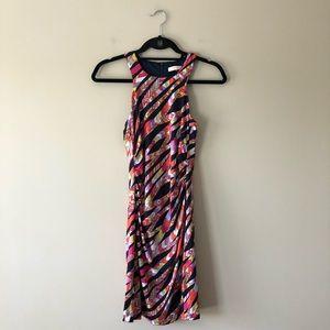 Trina Turk multi color sleeveless dress